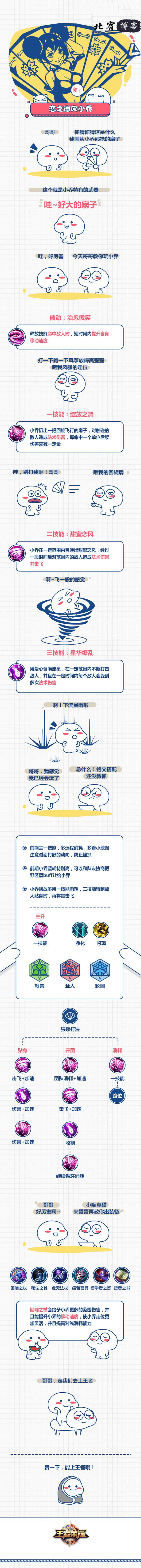 王者荣耀丨S9赛季小乔出装及铭文装配-V站